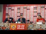 Полная пресс-конференция Олега Знарка и Романа Ротенберга 13.12.17