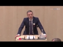 Österreich - Herbert Kickl (FPÖ) am 9.11.2017 . Frau Merkel mal bitte genau zuhören!