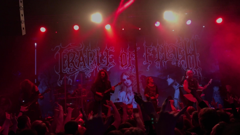 Cradle Of Filth - Her Ghost In The Fog (Moscow - 09.03.2018)
