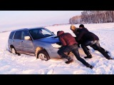 ЗИМОЙ ПО ПОЛЮ 3 ! НА FORESTER STI vs SNOW камера IPHONE X vs SONY Х3000 vs SJCAM vs NICON D5300