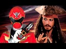 Pirates of the Caribbean Power Rangers Megaforce Style!