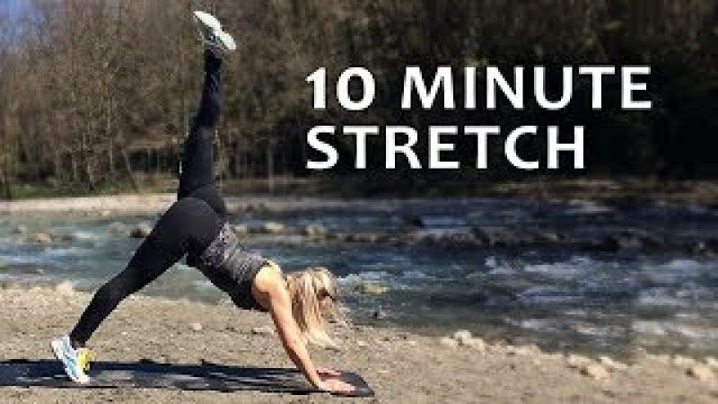 10 minute Full Body Stretching Exercises   Flexibility Workout   Dance, Gymnastics, Splits