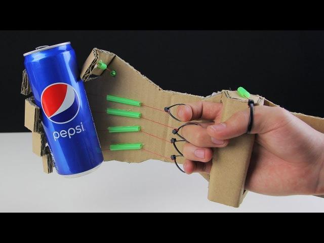 Механическая рука робота из картона - как сделать робота из бумаги своими руками
