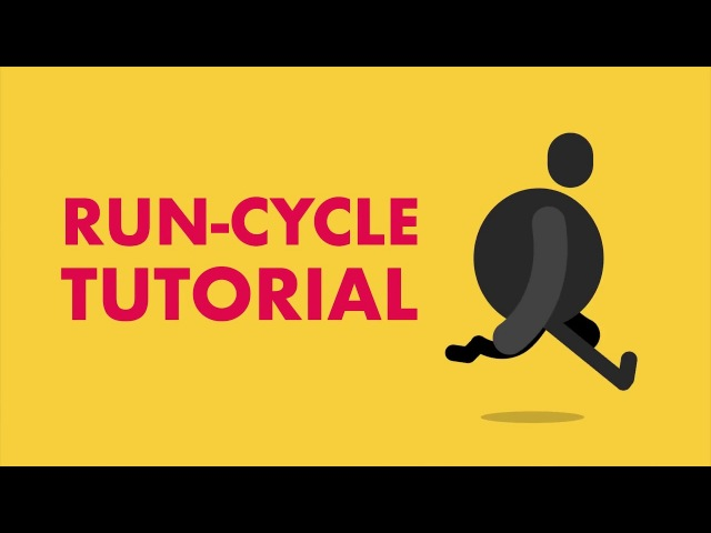 Run Cycle in After Effects Tutorial - How To Animate