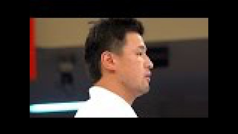 JKA世界大会、準決勝(根本VS忠鉢) KARATE WORLD TOURNAMENT Semi Final