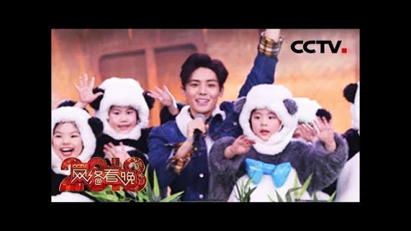 [2018 HOU MING HAO 年CCTV网络春晚] 侯明昊携萌宠熊猫《拜年啦》   CCTV春晚