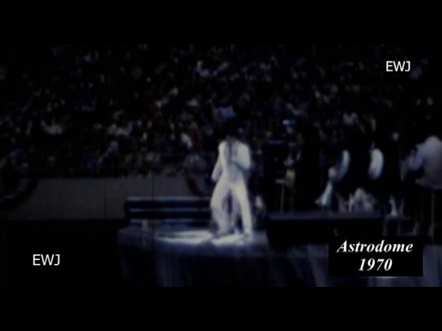 Elvis, Astrodome, Houston, 1970