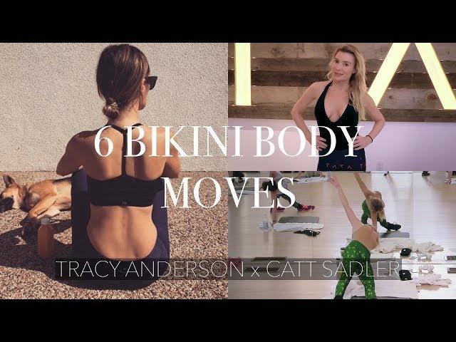 TRACY ANDERSON X CATT SADLER || 6 Bikini Body Moves