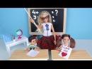 ТАЙНЫЙ ПОКЛОННИК Мультик Барби Про Школу Школа Девочки играют в Куклы
