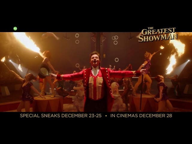 The Greatest Showman [ 'Promised' TV Spot in HD (1080p)]