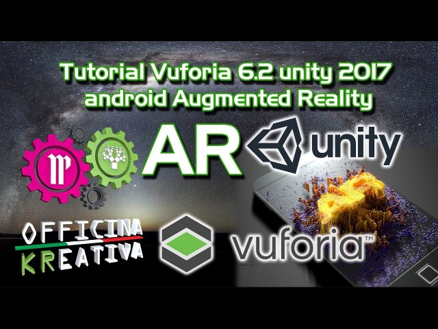 Tutorial Vuforia 6.2 unity 2017 android Augmented Reality