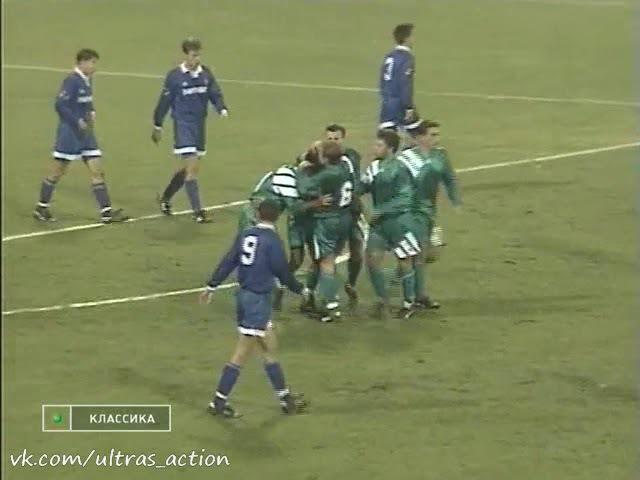 Динамо - Жемчужина. Чемпионат России-1994. Гол Княжева