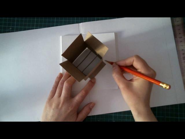 Практика Pop-up. Часть №7 Коробка с шариками на дополнительной платформе