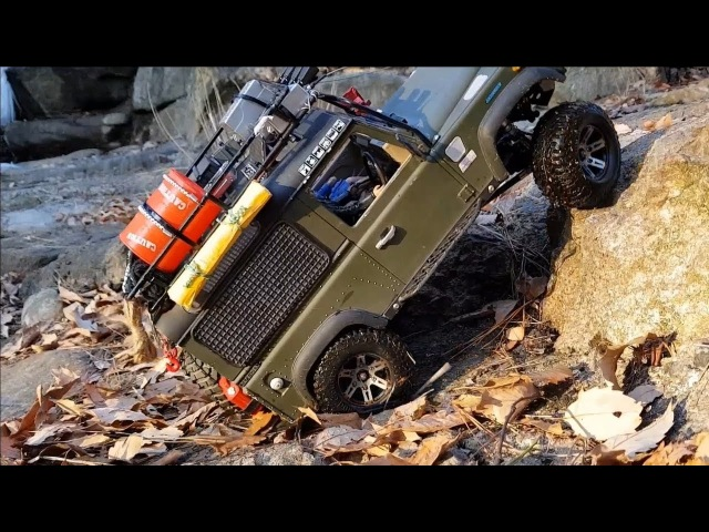 RC CAR RC4WD D90 Land Rover Defender Jae-song Valley Adventure 3