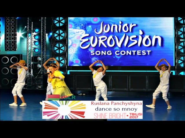 Junior Eurovision JESC 2017 Belarus National Selection Ruslana Panchyshyna - DANCE SO MNOY