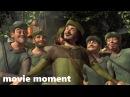 Шрек (2001) - Робин Гуд и его команда (10/11) | movie moment