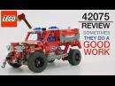 Больше чем пожарка / обзор 42075 LEGO Technic First Responder