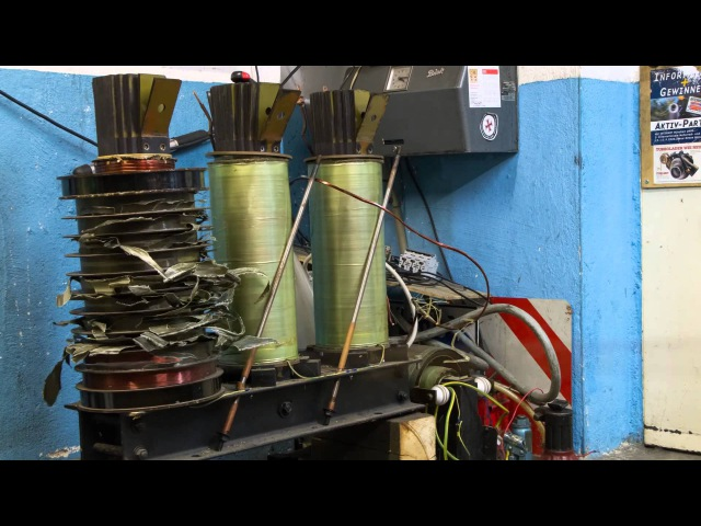 How to build a huge High Voltage Transformer