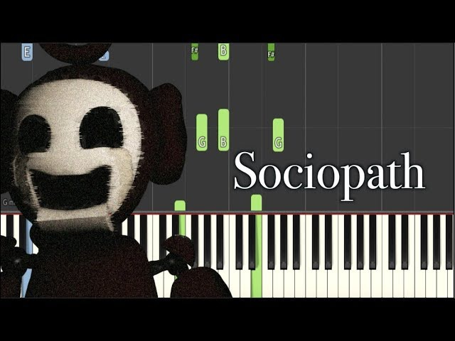 Dark Piano - Sociopath | Synthesia Tutorial