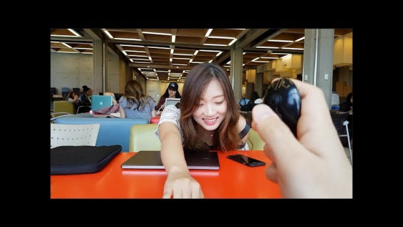 EXTREME VIBRATING PANTIES PRANK ON GIRLFRIEND IN FRONT OF CLASS!! TURNS VERY SEXUAL!!