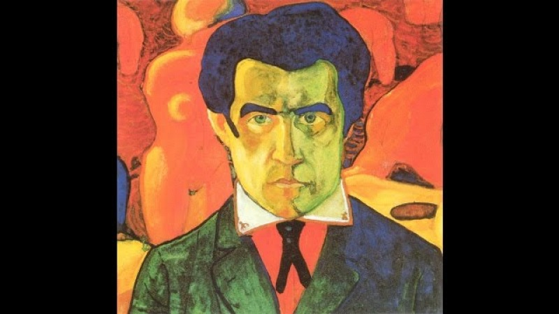 Kazimir Malevich. Brief biography and his artwork. Great for kids and esl