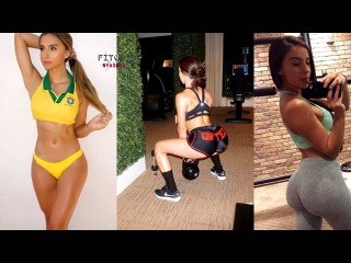 Bruna Rangel Lima @xoobruna - Brazilian Fitness Girl | Gym WorkOut | Instagram Models