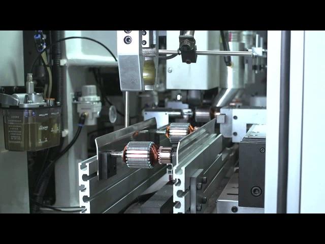 Полностью автоматизированная линия по производству роторов для электродвигателей
