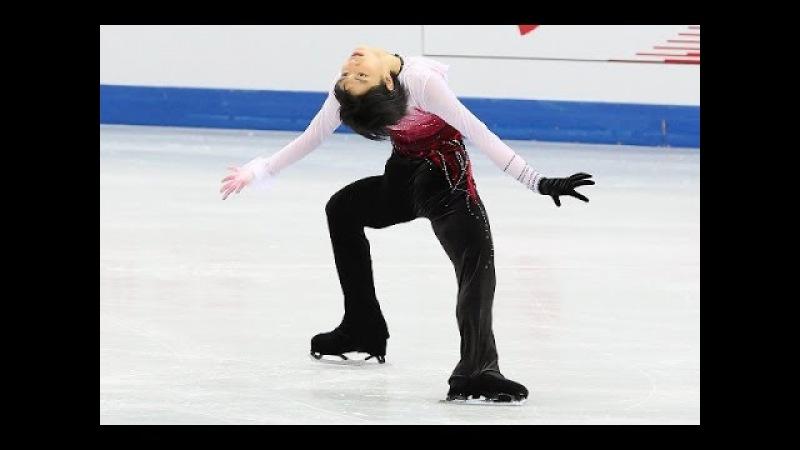 Юзуру Ханю. Произвольная программа. Олимпиада в Сочи 2014.