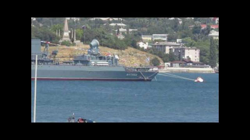 Корабли парада ВМФ России 2017