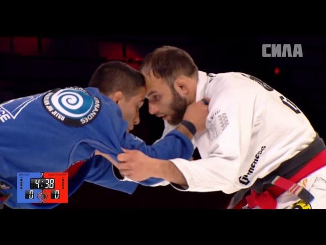 Samir Chantre vs Laercio Fernandes 60kg ACB_JJ_11 (комментатор Али Магомедов)