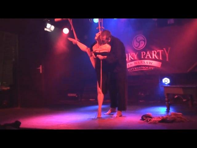 Kinky Party 7 Kinbaku Luxuria performance