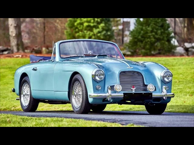 Aston Martin DB2 Drophead Coupe by Mulliner MkII '1955–57