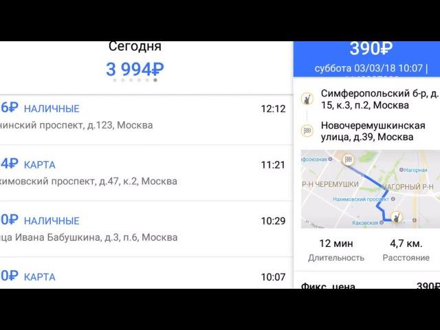 Кем выгоднее быть лучшим водителем ГЕТТ или обычным в ЯНДЕКС такси