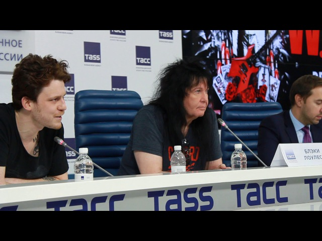 Blackie Lawless - 2017 - W.A.S.P. - Press Conference, Moscow (Interview) - 3