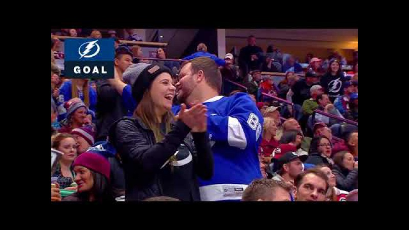 Nikita Kucherov awesome assist to Hedman vs Avalanche (2017)