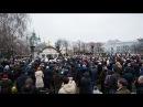 Тисячі киян вийшли на підтримку Десятинного монастиря