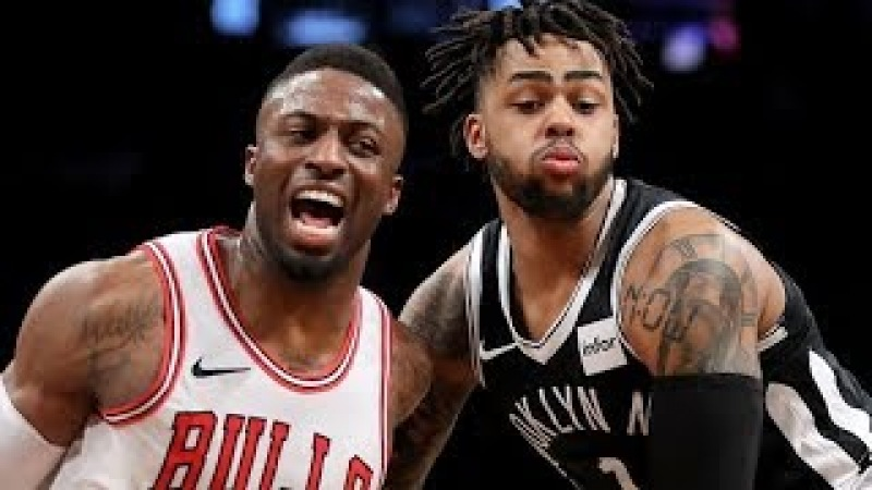Chicago Bulls vs Brooklyn Nets - Full Game Highlights | February 26, 2018 | 2017-18 NBA Season