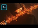 How to Apply a Blazing Hot Fire Effect in Photoshop