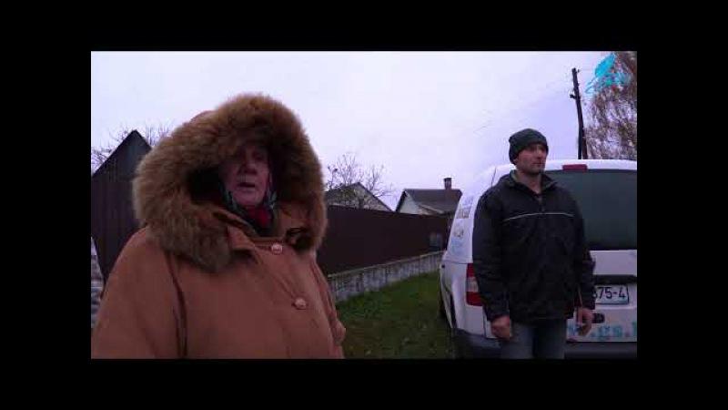 Жители Альбертина негодуют: дорога — сплошное безобразие