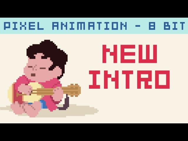 Steven Universe Pixel - Nova Intro Final Extra (Multi-Linguagem) 8 bit