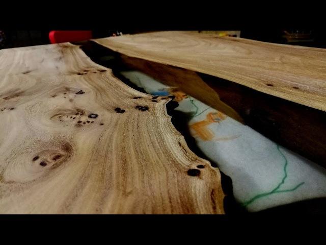 Стол из слэбов с эпоксидной смолой. Подробный мастер-класс. 1 часть
