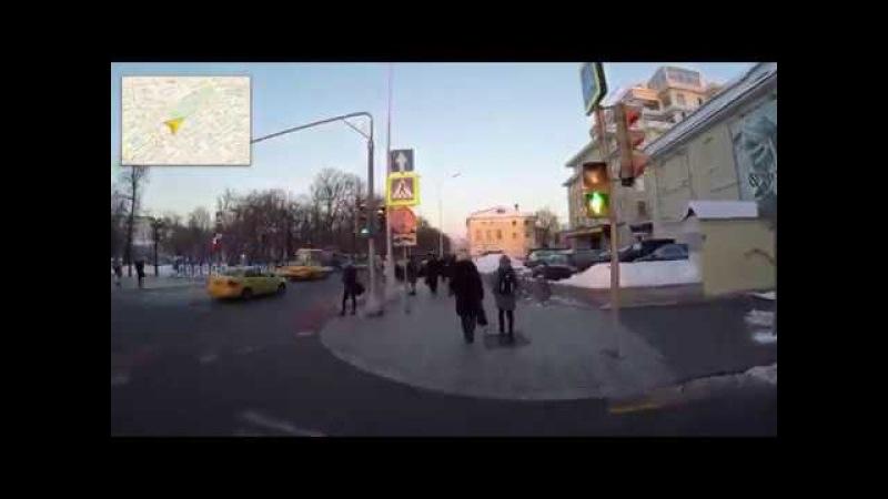Как пройти от метро Чеховская, Пушкинская в Визовый центр