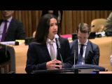 Xiuhtezcatl, Indigenous Climate Activist at the High-level event on Climate Change