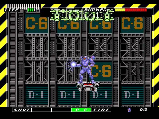 ESWAT: City Under Siege [Sega Mega Drive / Genesis / Longplay]