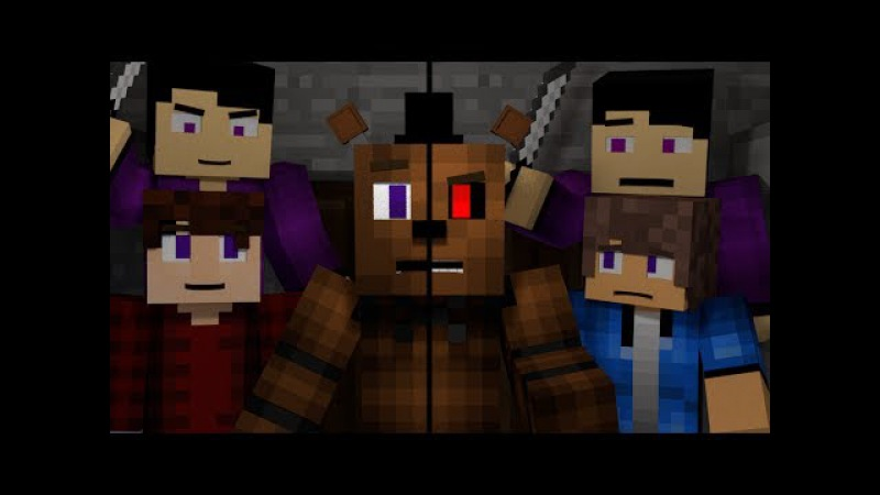 Look At Me Now | FNAF Minecraft Music Video | 3A Display (Song by TryHardNinja)
