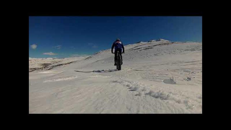 Vee Tire Snowshoe 3XL 5.7''. Hemsedal, Norway