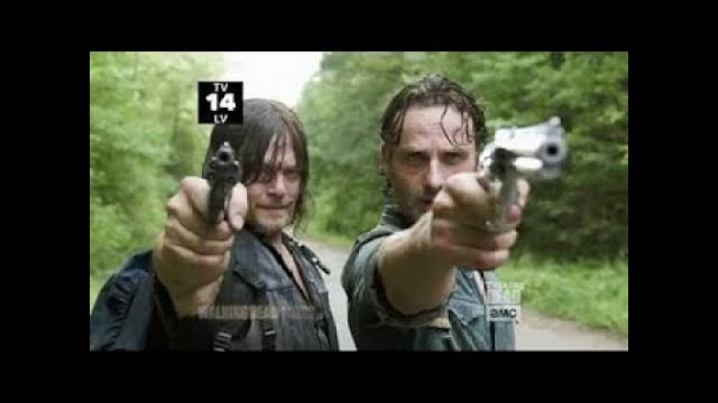 The Walking Dead 8x05: Rick VS Daryl FULL SCENE AND Andrew Lincoln Norman Reedus On The Scene [HD]