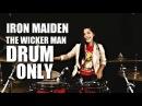 Iron Maiden The Wicker Man DRUM ONLY by Nur Amira Syahira