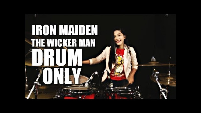 Iron Maiden The Wicker Man DRUM ONLY by Nur Amira Syahira