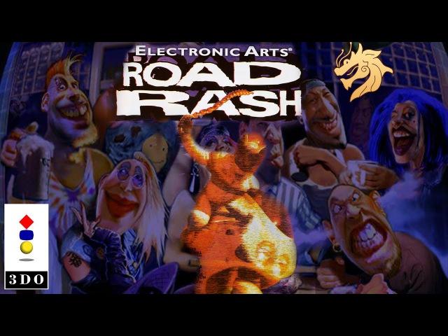 Road Rash / Роад Раш | Panasonic 3DO 32-bit | Полное прохождение все видеофрагменты
